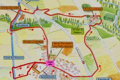 Plano Ruta de las ermitas 2019