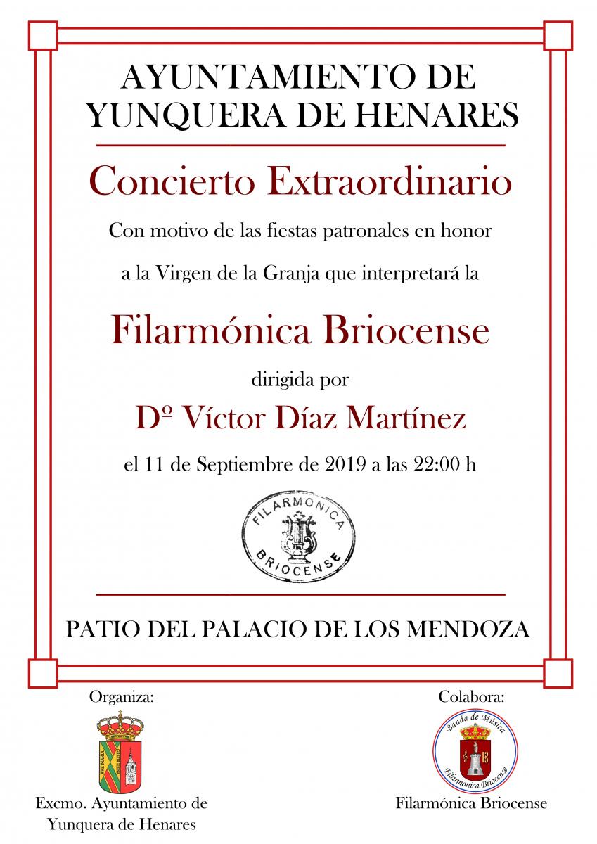 Concierto Filarmonica Septiembre 2019